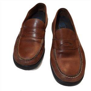 Rockport handsewn loafers, men, brown, Size 10.5